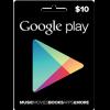 Google Play Gift Card NA 10 USD
