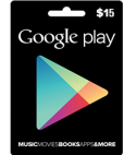 Google Play Gift Card NA 15 USD