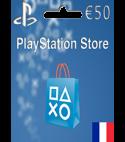 PlayStation Network Gift Card 50 EUR FR