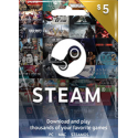 Steam Gift Card GLOBAL 5 USD