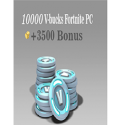 10000 (+3500BONUS) V-bucks Fortnite PC