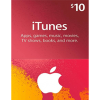 Itunes Gift Card NA 10 USD
