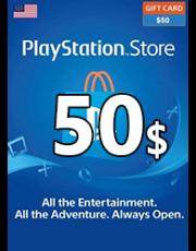 PSN 50 USD