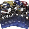 Steam Gift Cards USD